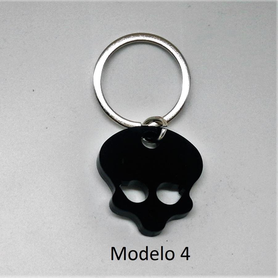 Llavero calavera metacrilato (modelo 4)